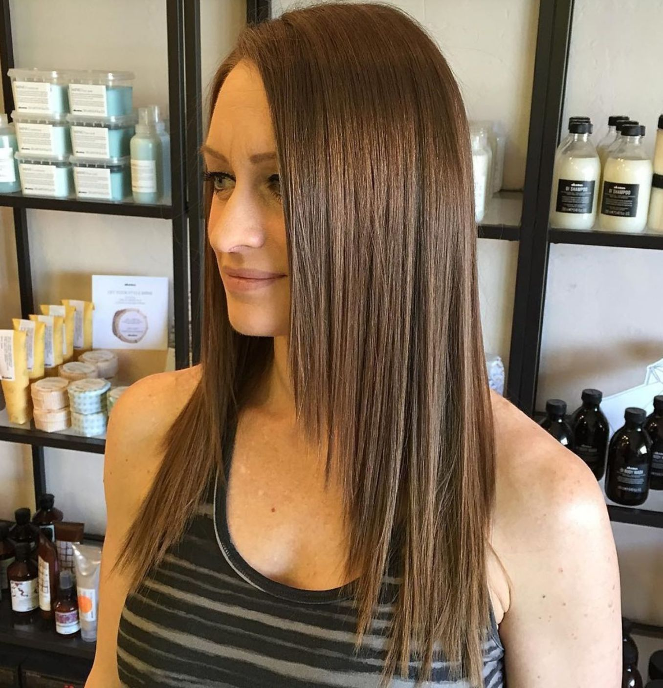 40 Long Hairstyles and Haircuts for Fine Hair | Long face ...
