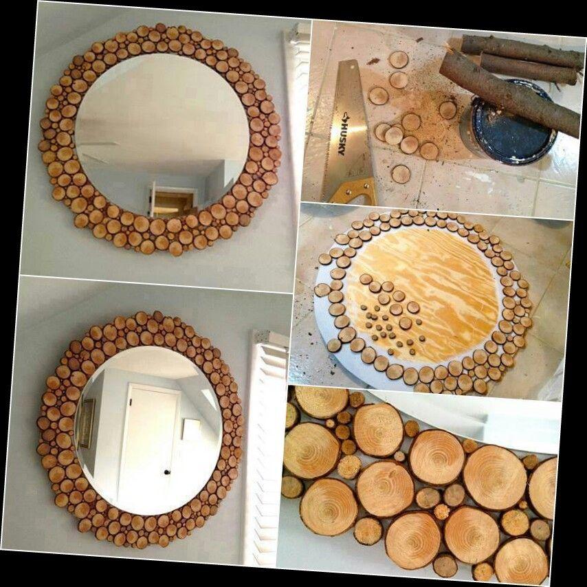 Espejo rustico espejos pinterest espejos espejos - Espejos rusticos ...