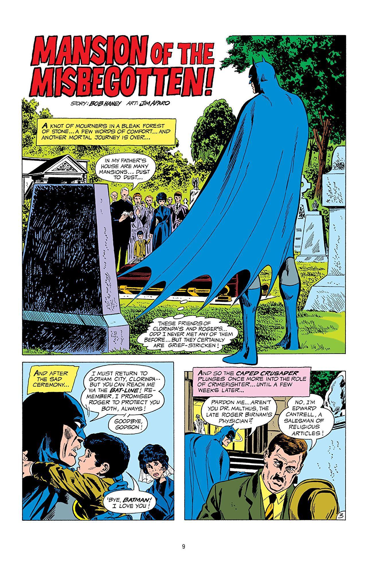 Legends Of The Dark Knight Jim Aparo Vol 1 Comics By Comixology Dark Knight Knight Batman Universe