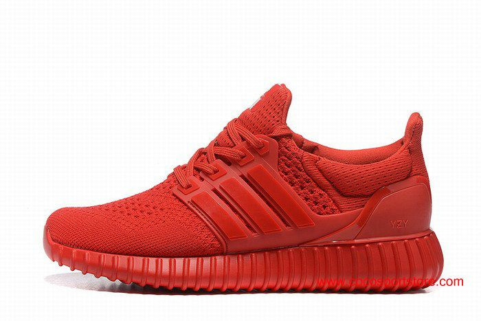 on sale 8350f 54353 2016 Womens Adidas Yeezy Ultra Boost All Red Running shoes
