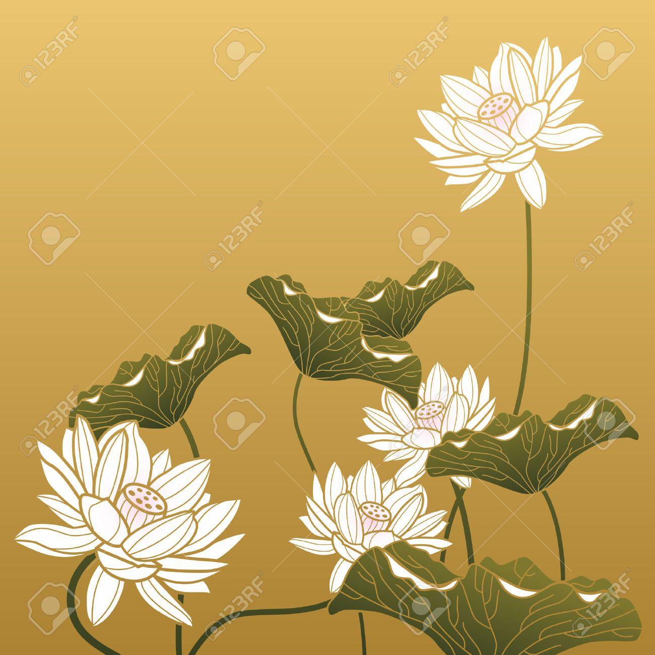 43460847 traditional chinese art stock vector lotus flower chinese 43460847 traditional chinese art stock vector lotus flower izmirmasajfo