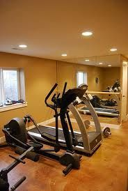 basement room projects gym  home tips a home gym is more