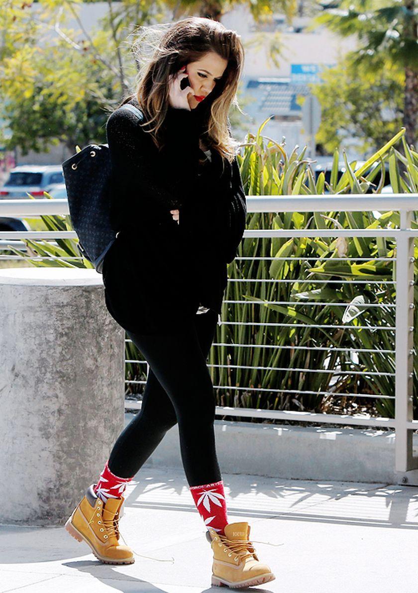 089b955d8c58 nice Модные женские ботинки Тимберленды — С чем носить зимой и летом  Khloe  Kardashian,
