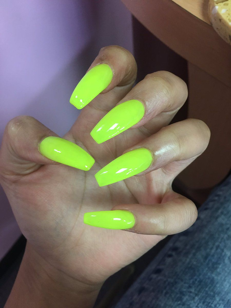 Truubeautys Lime Green Nails Green Nails Nail Colors