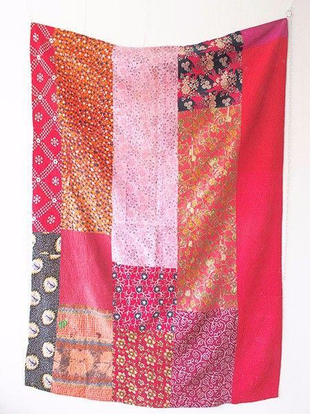 インド、パキスタン、バングラデシュ地域に見られる、布を幾重にも重ねてランニングステッチをほどこしたキルトをラリーキルト,カンタと呼ばれています。「ラリ-」とは... ハンドメイド、手作り、手仕事品の通販・販売・購入ならCreema。