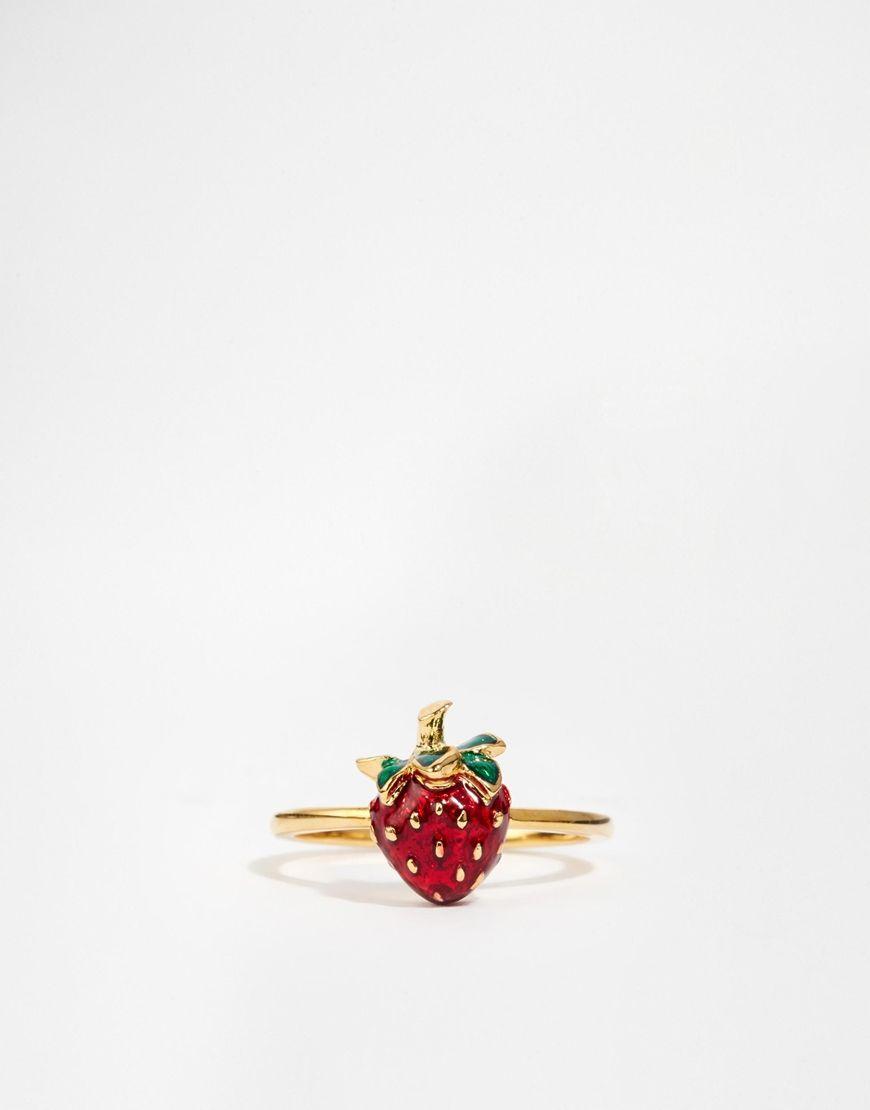 Image 2 - Bill Skinner - Mini bague avec détail fraise