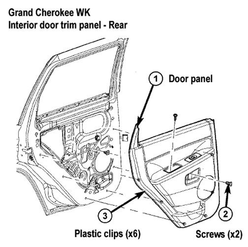 Jeep Grand Cherokee Wk Interior Trim Removal Jeep Wk Jeep