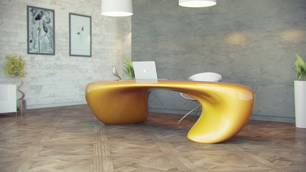 eccentric office tables - Google Search