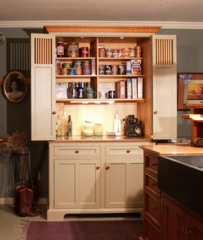 Armoire Hospitality Centers U0026 Working Pantries | YesterTec Kitchen Design  Company