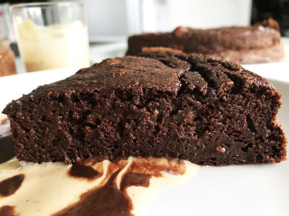 Fondant au chocolat 100 calories | Recette | Gateau
