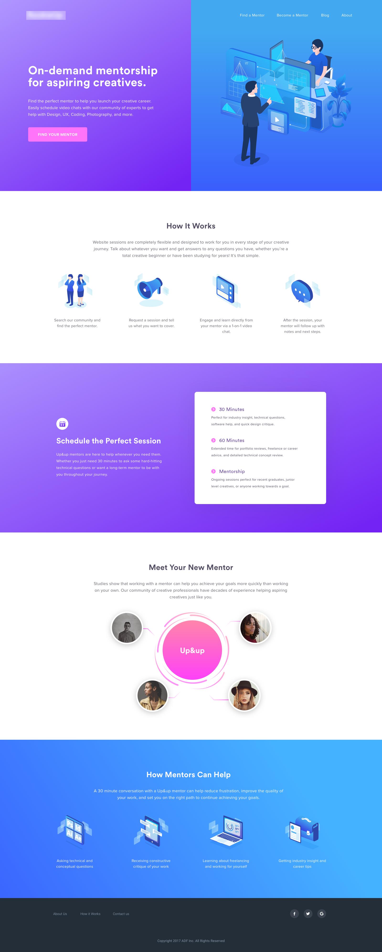 Creative Career Mentorship Web Inspiration Web Design Web Design Inspiration