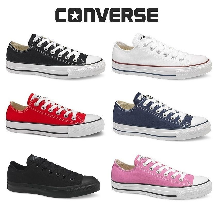Boys Girls Classic Chuck Taylor High Trainer Sneaker All Stars OX NEW size Shoes