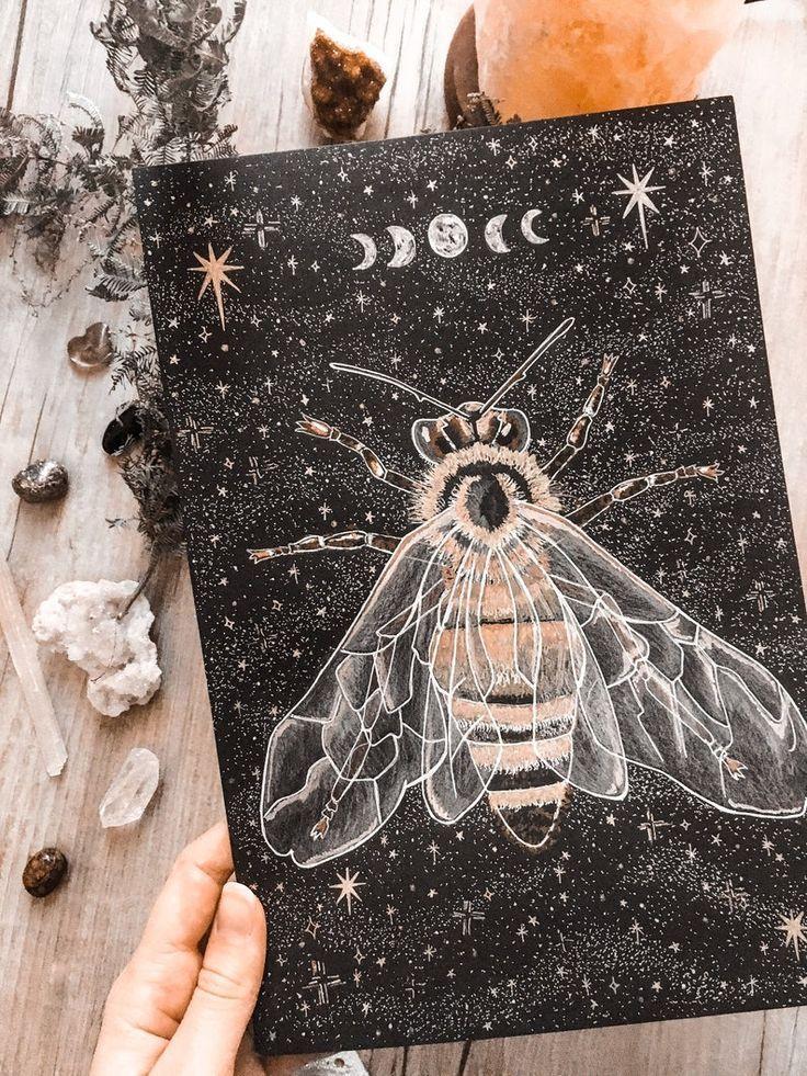 Art Print - Honeybee