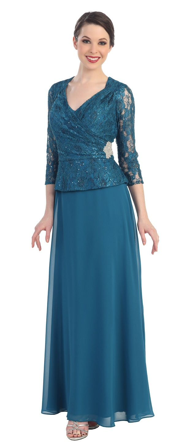 Cindy Collection Dress 1373 Teal, Black, Dusty Rose, Royal | One day ...