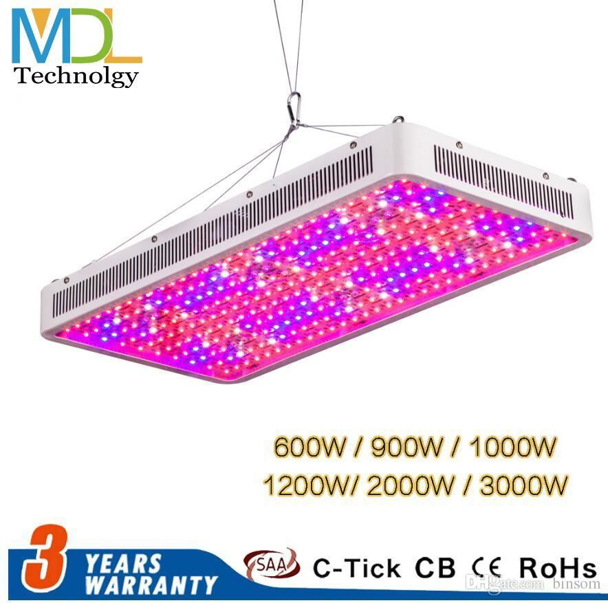 Led Grow Light 2000w 1200w 1000w 900w 600w Full Spectrum Greenhouse Grow Led Plant Lamp For Indoors 3000w Double C Led Grow Lights Led Lights Led Candle Lights