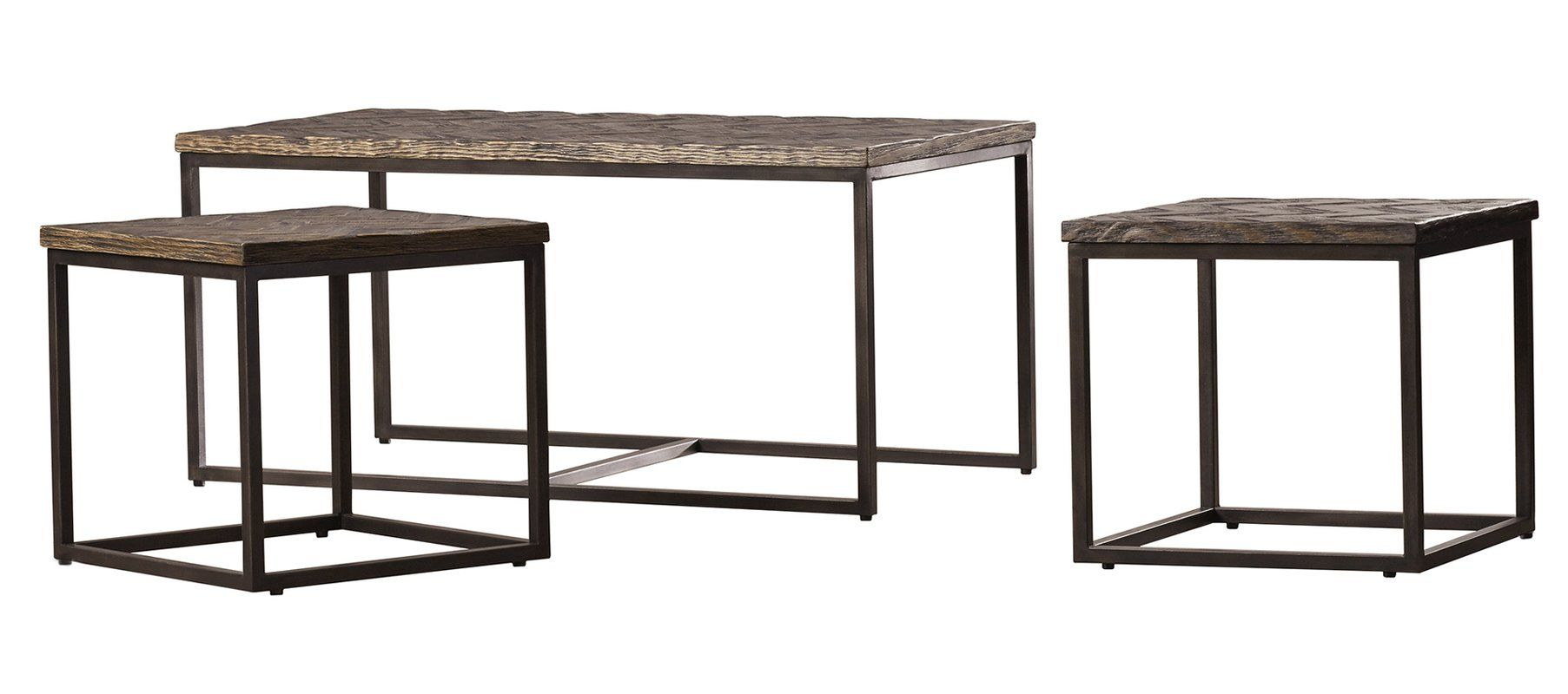 Aguilar Nesting 3 Piece Coffee Table Set With Images Coffee Table 3 Piece Coffee Table Set Cool Coffee Tables [ 800 x 1805 Pixel ]