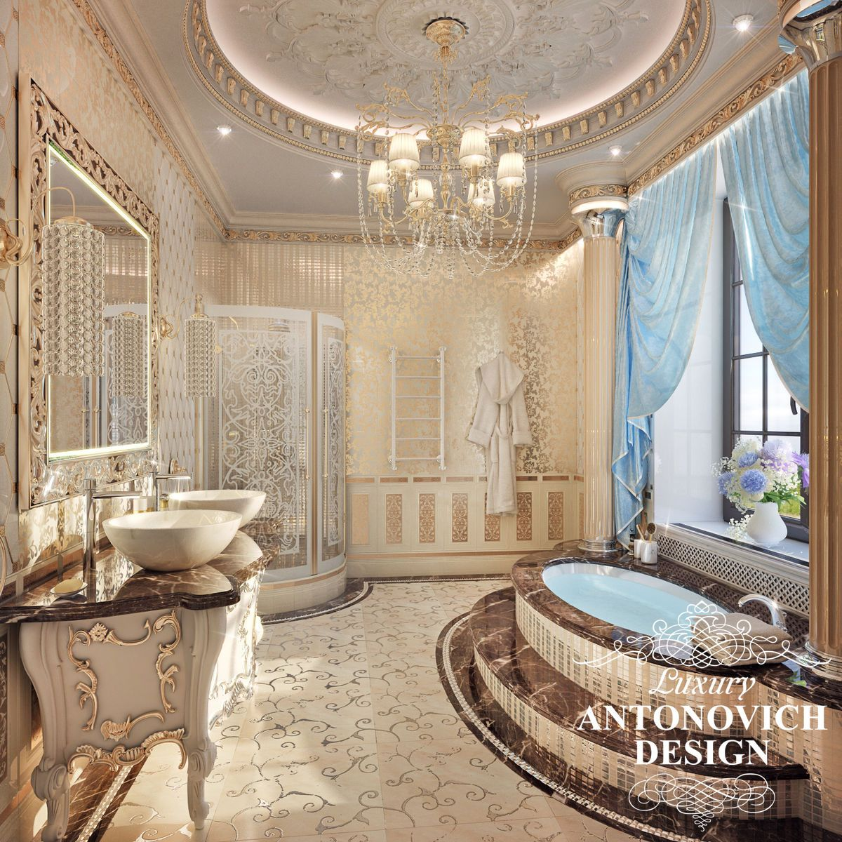 Home Interior Design Luxury Bathrooms: Pin By Rebecca Temari On Grand Opulence