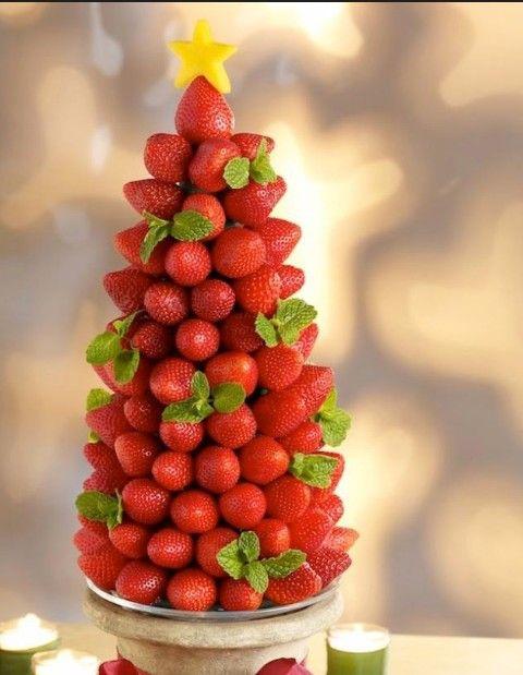 Pinito de fresas
