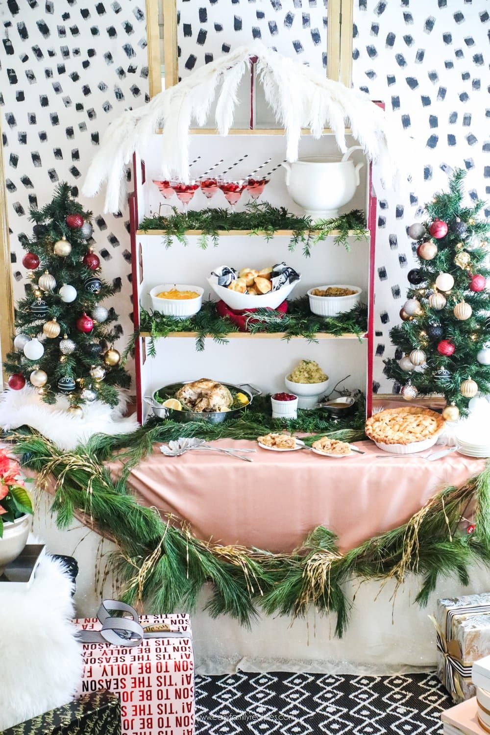 How To Set Up A Statement Making Buffet Table For Your Next Party Buffet Table