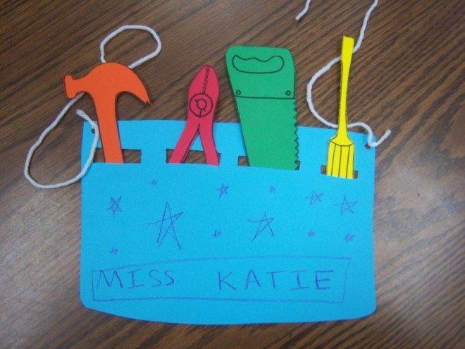 Tool Belt Craft Tools Storytime And Tool Belt Craft Preschool