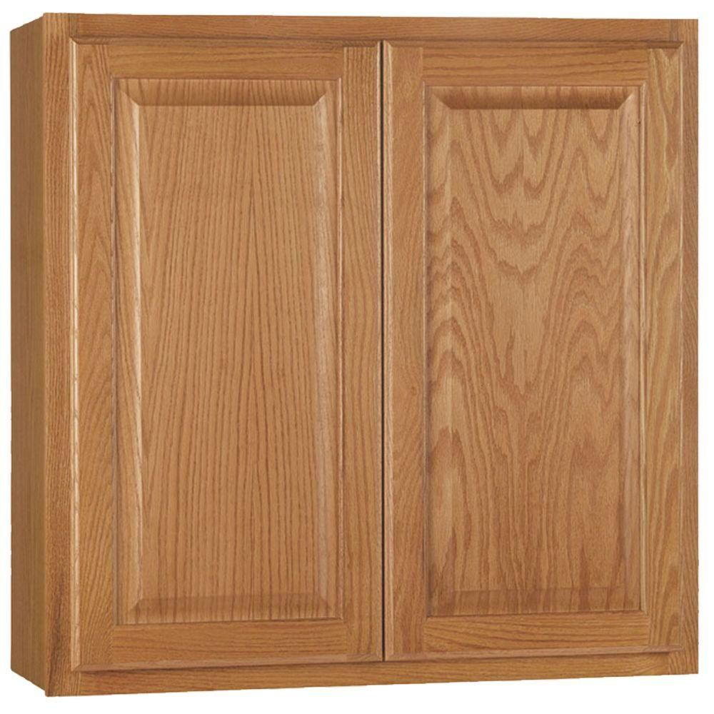 Best Hampton Bay Hampton Assembled 30X30X12 In Wall Kitchen 640 x 480