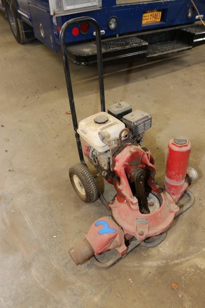 Item 2 Homelite Mud Pump Model Hdp3 Equipped Honda 5 5hp Gx160 Motor Reported To Be Fully Operational Shrub Oak Auction Mud
