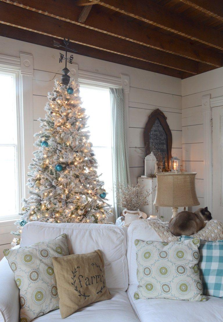 bryarton farm farmhouse christmas tour 2017 - Farmhouse Christmas Decor Pinterest