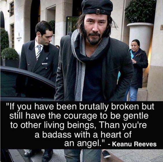 Charming Life Pattern Keanu Reeves Quote If You Have Been