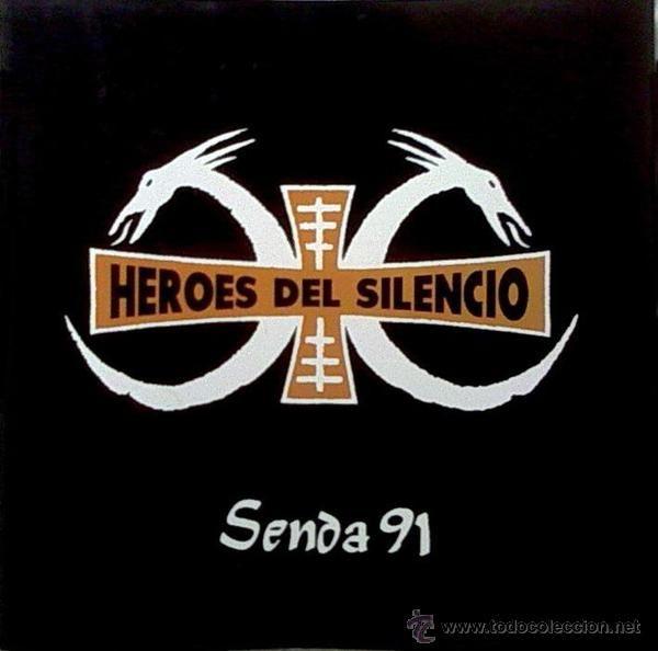 Heroes Del Silencio Senda 91 Tour Book Hds Heroes Del Silencio Rock En Español Heroe