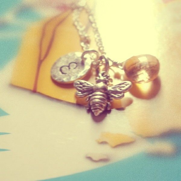 Bees for spring #bijouxbymeg #bees