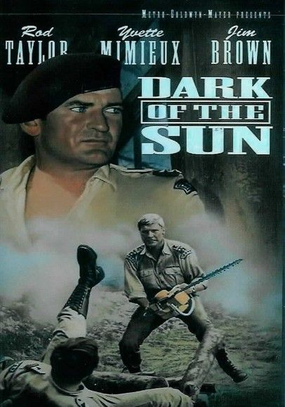 Dark Of the Sun (1968) Rod Taylor, Yevette Mimieux & Jim
