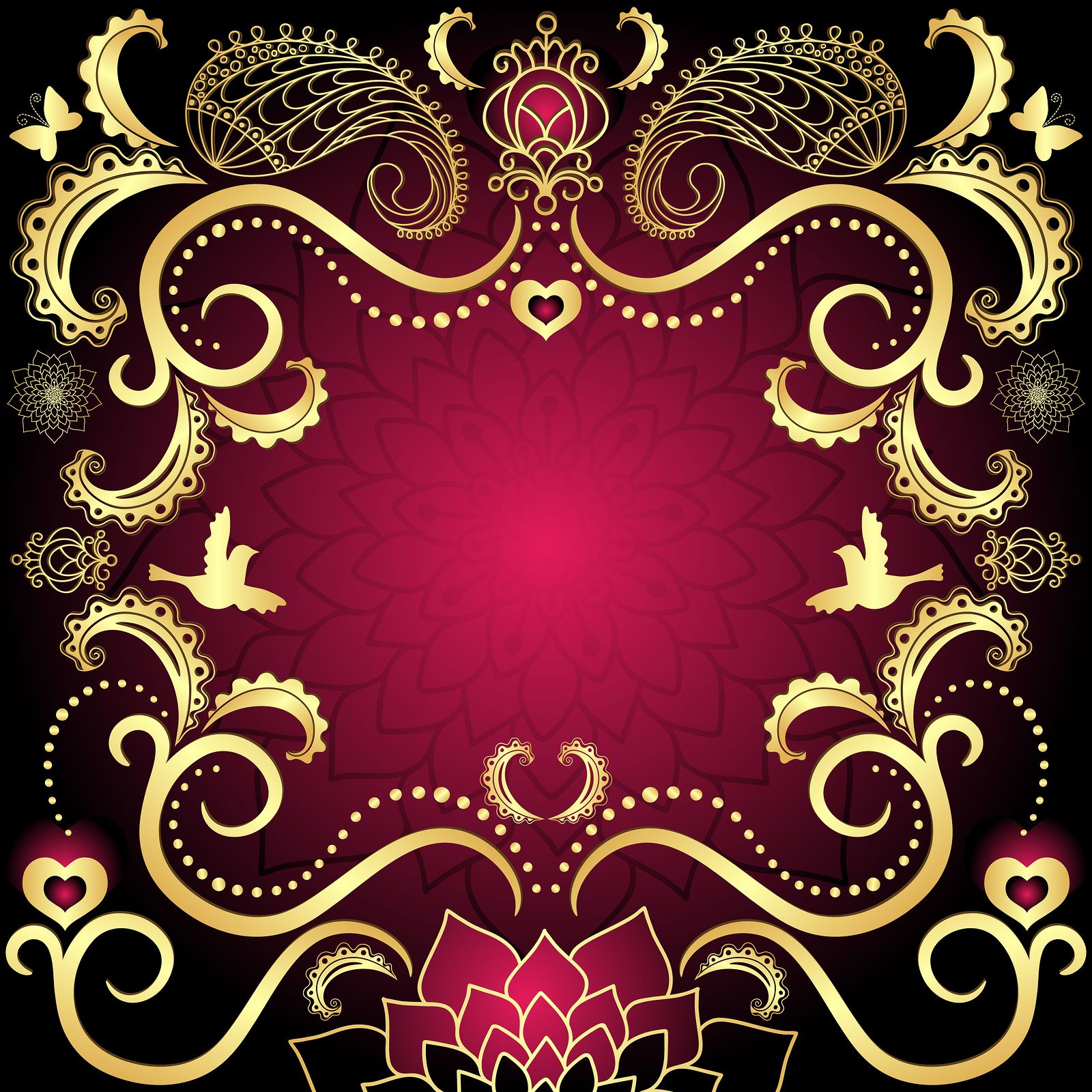 #wedding, #invitation #Indian #wedding background for your ...