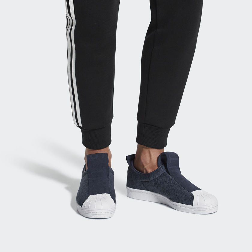 Preescolar Relativo Pez anémona  adidas Superstar BW3S Slip-on Shoes - Blue | adidas US | Adidas slip, Adidas,  Superstars shoes