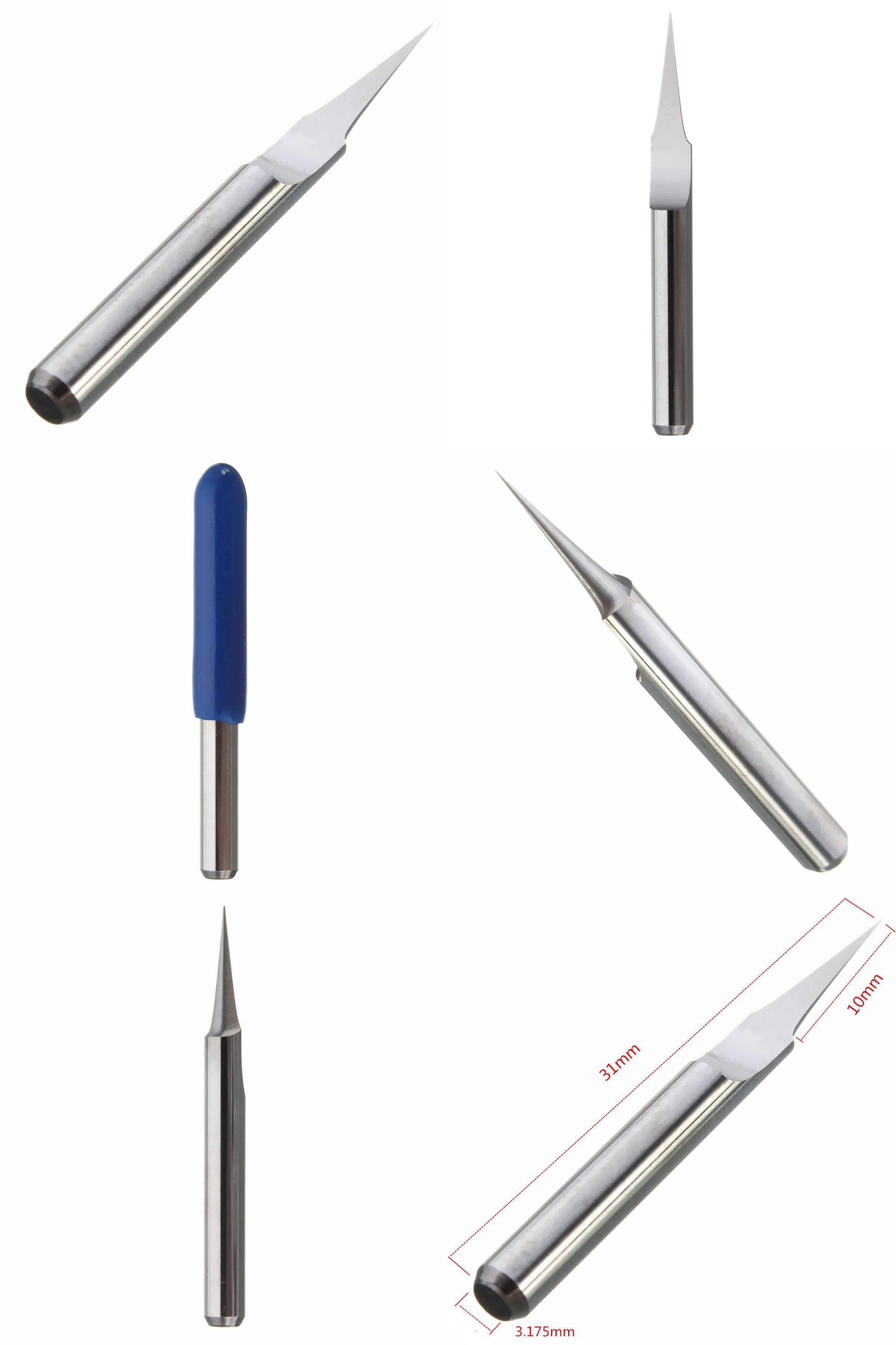 visit to buy] best price 1pc carbide pcb engraving bits cnc  car vehicle auto mini blade ato fuse