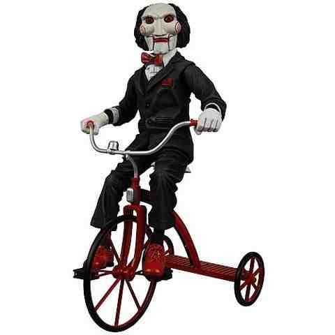 """Jigsaw from """"SAW"""" creeps me way out!"""