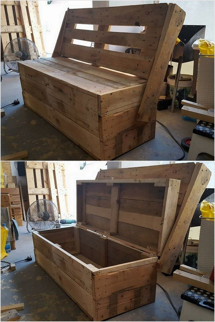 50 Wonderful DIY Pallet Furniture Ideas and Projects 2018 ...