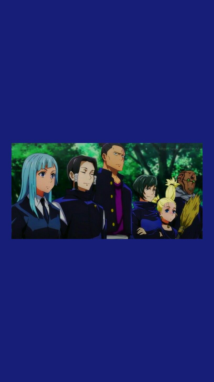 Kyoto Team In 2021 Jujutsu Anime Movie Game