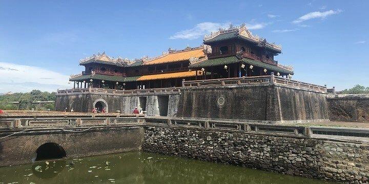 Imperial Citadel, Hue, Vietnam, Asia