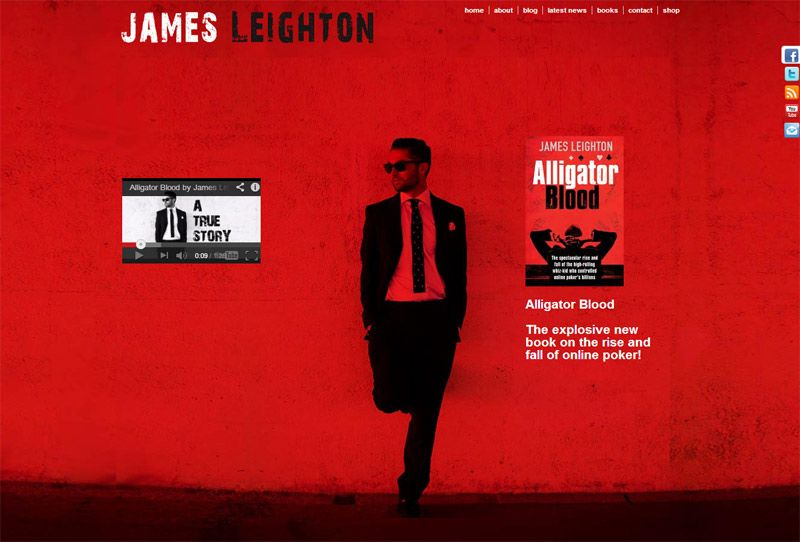 Website For International Author James Leighton Designed In Wordpress By Cimplicity Book Blog New Books True Stories