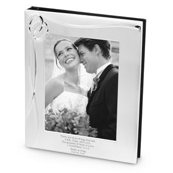 Double Rings 8x10 Album at Things Remembered | Personalized