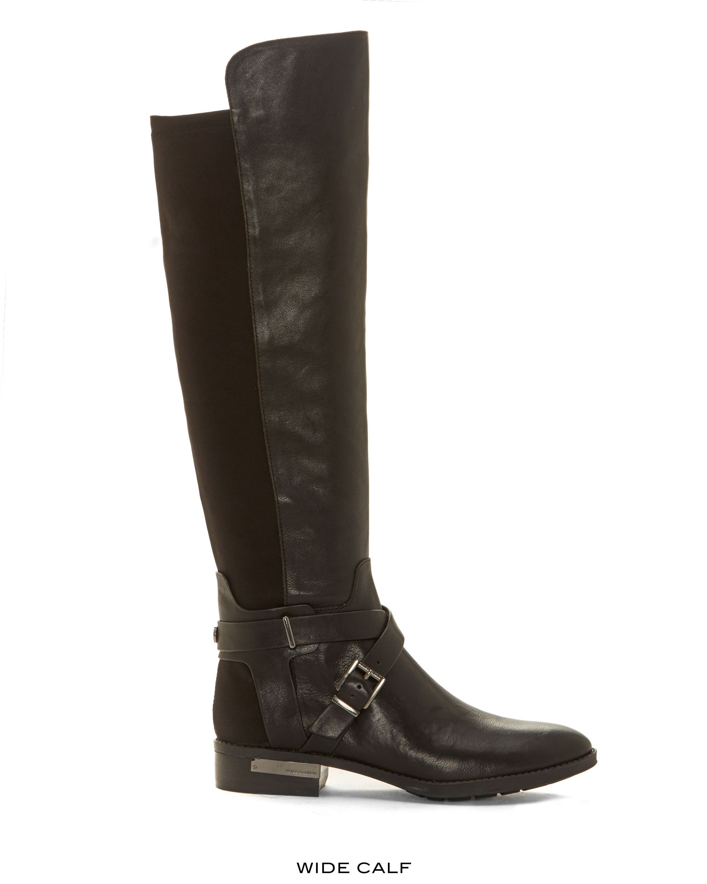db02e427482 VINCE CAMUTO Vince Camuto Paton – Leather   Neoprene Boot.  vincecamuto   shoes