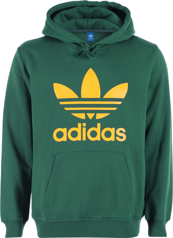 adidas green hoodie