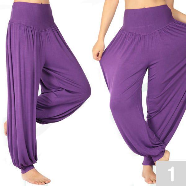 Pantalones de Yoga Pilates para Mujer Tallas S M L XL XXL en 5 colores 4af51348d45f