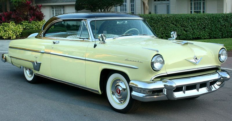 1954 Lincoln Capri Sport Coupe Under 57k Original Miles American Classic Cars Classic Cars Custom Cars Paint