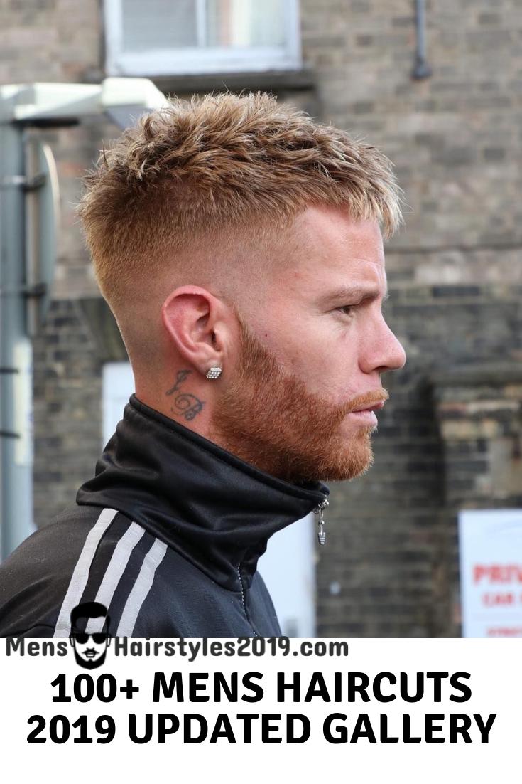 Mens Hairstyles 2019 ! Top 100+ Mens Haircuts, Variations