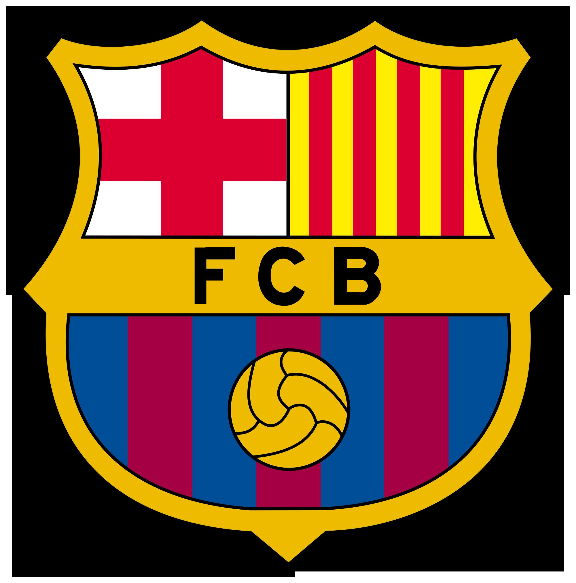 Символика испанских футбольных команд барселона