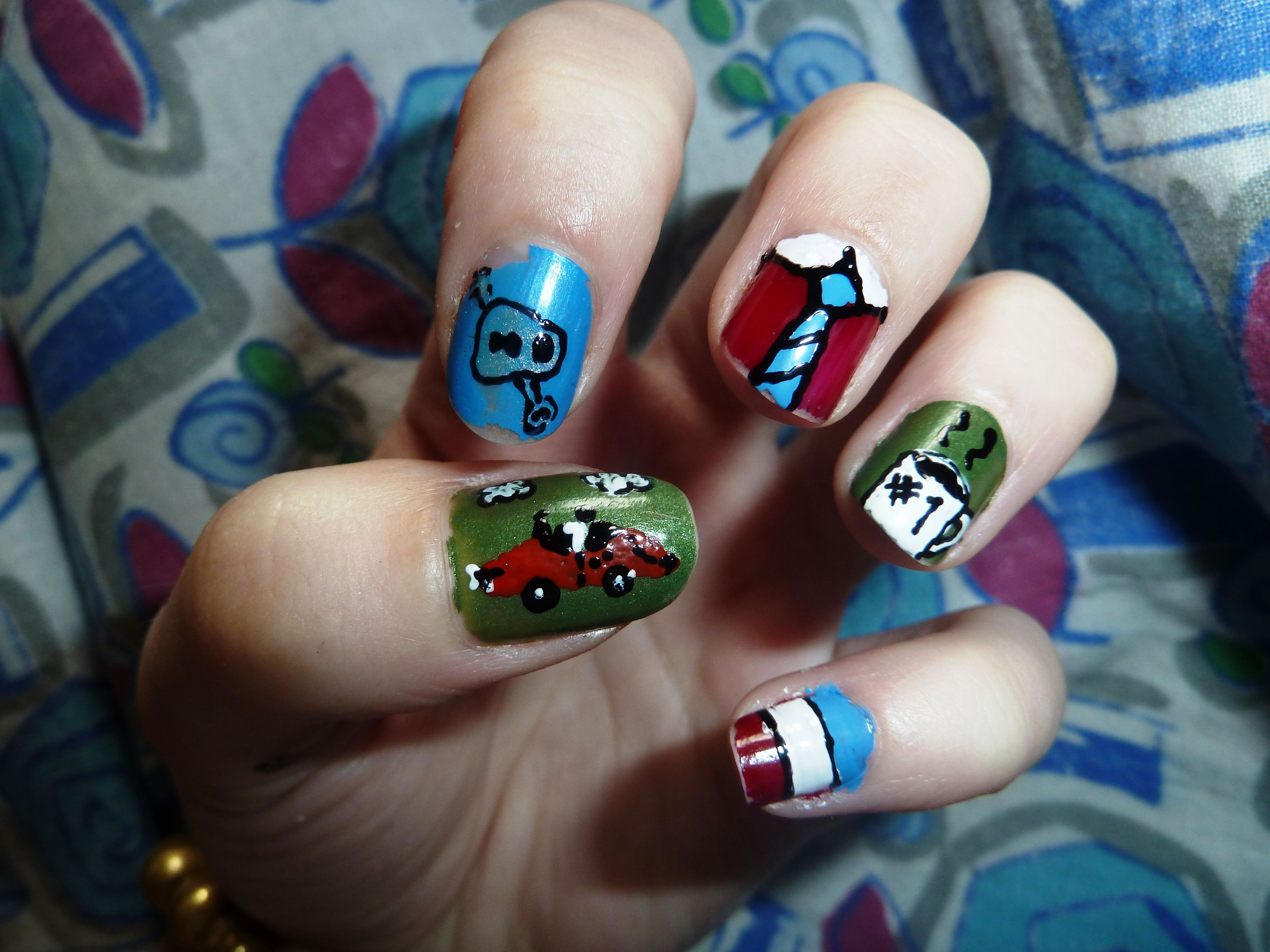 Fathers Day Nails :) | Father\'s Day Nail Art | Pinterest