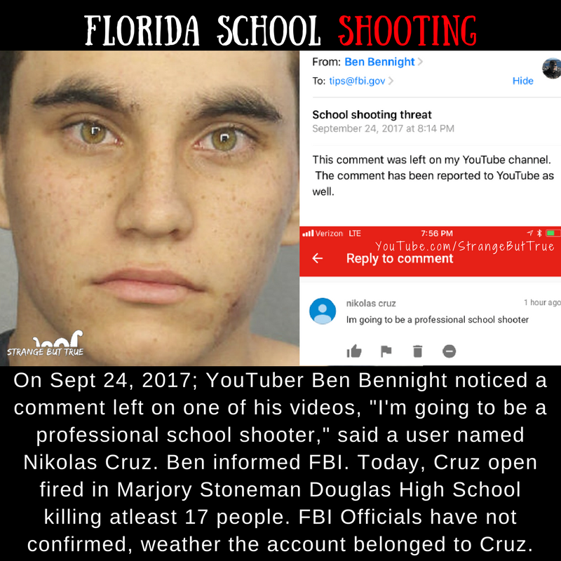 FBI Was Warned And Then Florida School Shooting Incident