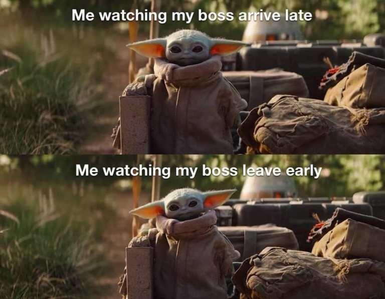 20 Extremely Relatable Baby Yoda Memes Funnod Yoda Funny Yoda Meme Yoda Images