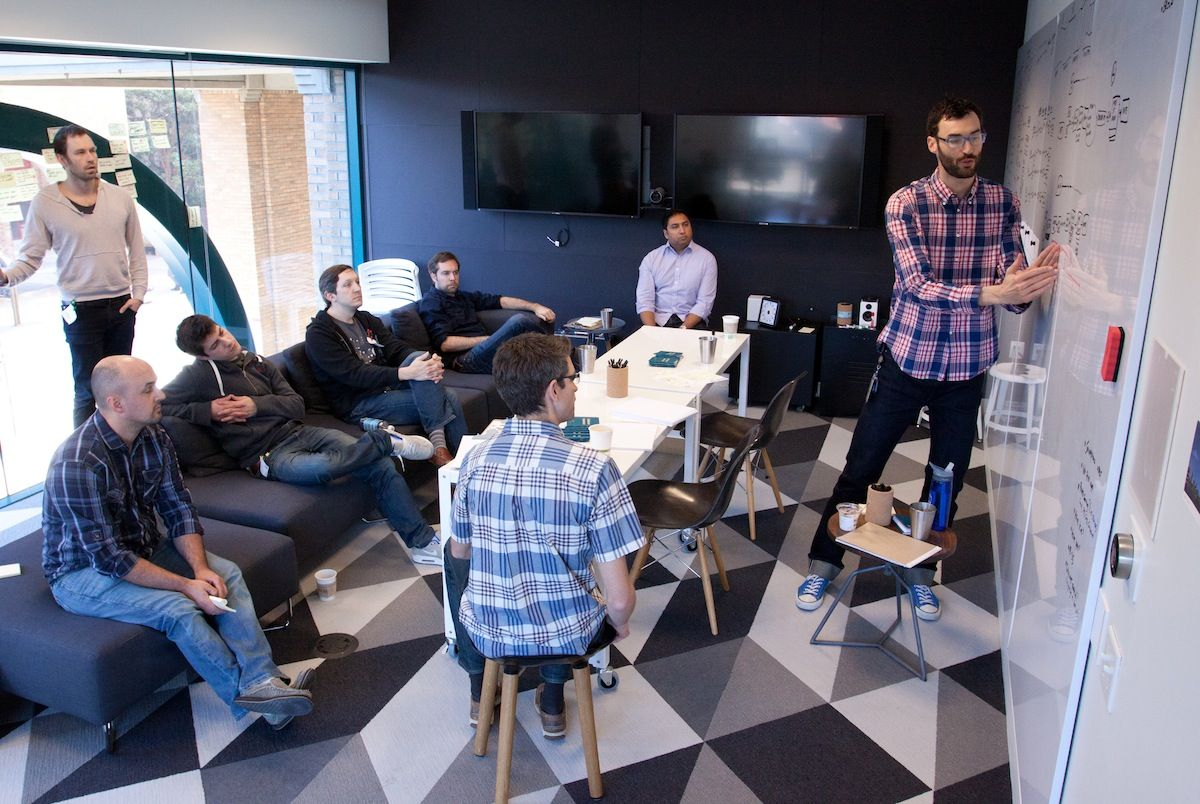 Google Room Design Google Ventures Your Design Team Needs A War Roomhere's How To